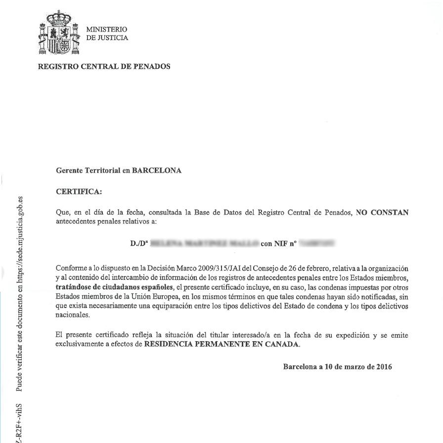 Traducciones Toronto - Certificadas :: Certified Translations ...