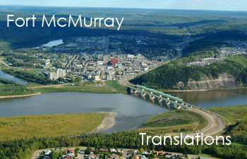 Fort McMurray - Certified Translator